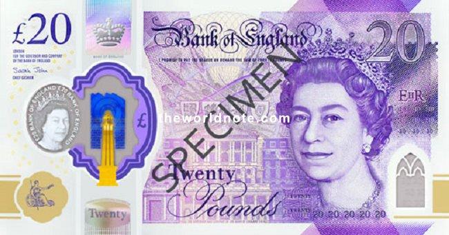 2020 £20 GBP
