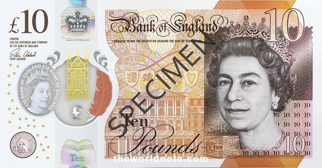 Bank of England  first issued our current £10 note in 2017