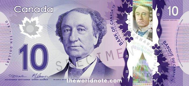 $10 CAD