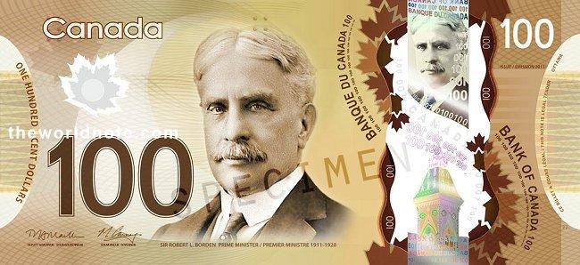 $100 CAD