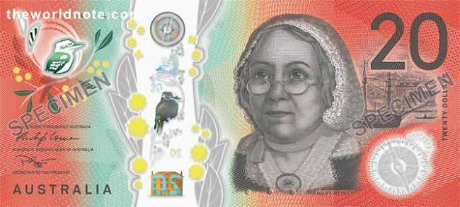 The new $20 banknote was released into general circulation on 9 October 2019.