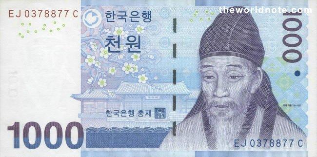 2007 1000-won