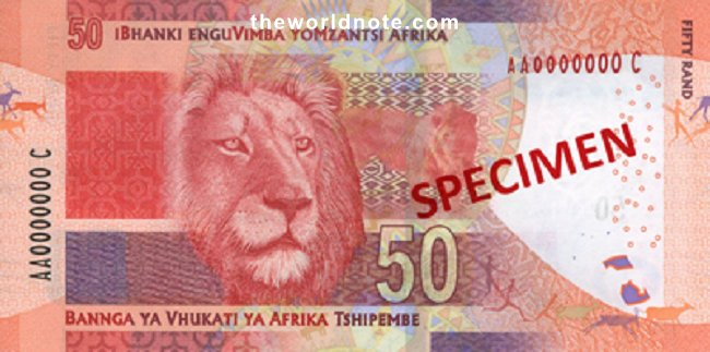 R50 South African: Lion